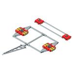 Containertransportfahrwerke ECO-Skate ISOCON XL (PU)