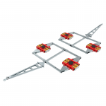 HTS ECO-Skate DUO XL (PU) - X32D (PU) + X32D (PU) Set