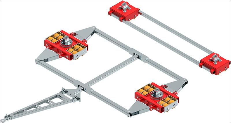 Containerfahrwerke ECO-Skate ISOCON