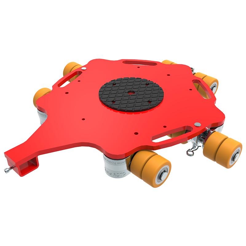 Rotationsfahrwerk ECO-Skate ROTO RF64 (PU)