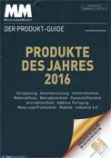MM Maschinenmarkt - Produkte des Jahres - Dezember 2016 - Titel